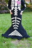 skeleton mermaid diy