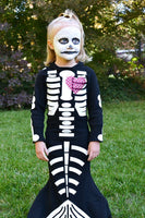 skeleton mermaid costume