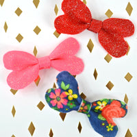 Free Heart Bow Pattern and Cut File