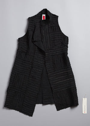 Load image into Gallery viewer, Pieced Merchant Vest in Anthracite
