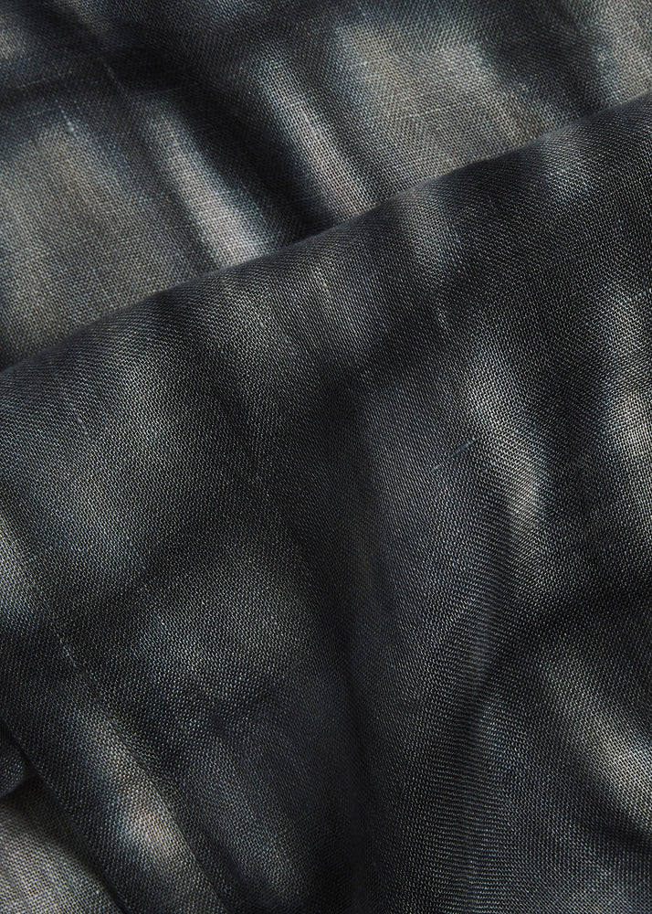 Load image into Gallery viewer, Abstract Squares Scarf in Anthracite