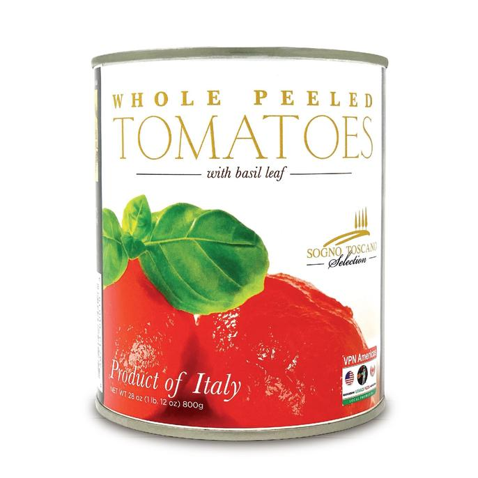 Whole Peeled Tomatoes - (large) Can