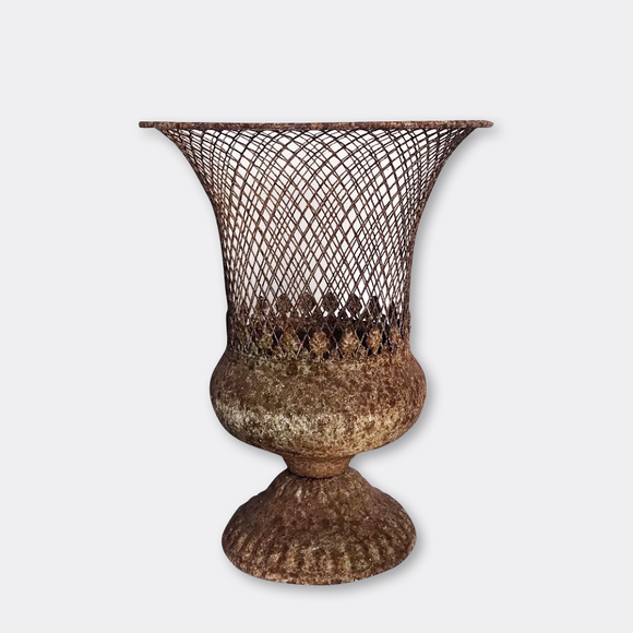 Antique mesh Vase S