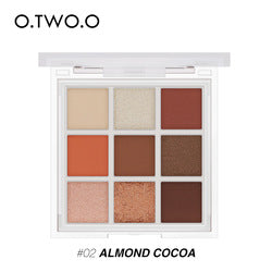 O.TWO.O  High Pigment Matte Shimmer Palette