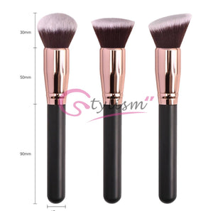 Stylism's Face PRO Brushes Set (3 piece Brush collection )