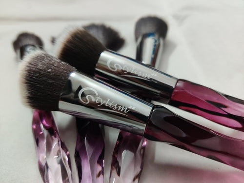crystal makeup brushes