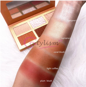 Luminescence Highlighter and Bronzer Palette (6 Colours)