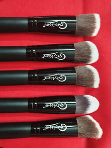 Black Jade Brush Set (14 piece brush collection with bag)