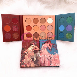 Florescence Eyeshadow Palette (24 Rich Colours)
