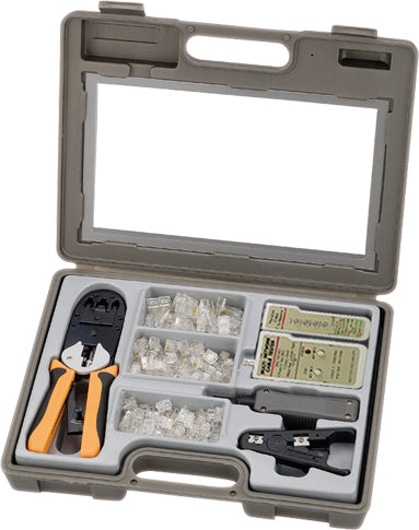HTK-111 Network Installation 130 Pieces Tool Kit