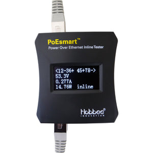 256320 PoEsmart - Power Over Ethernet (PoE) Inline Tester