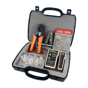 HT-256FM Workstation Installation Kit (with LANtest Network Cable Tester)