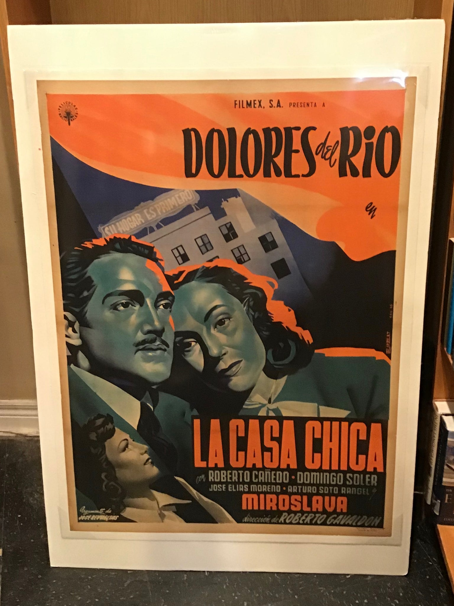 La Casa Chica. Original movie poster (one-sheet on linen)