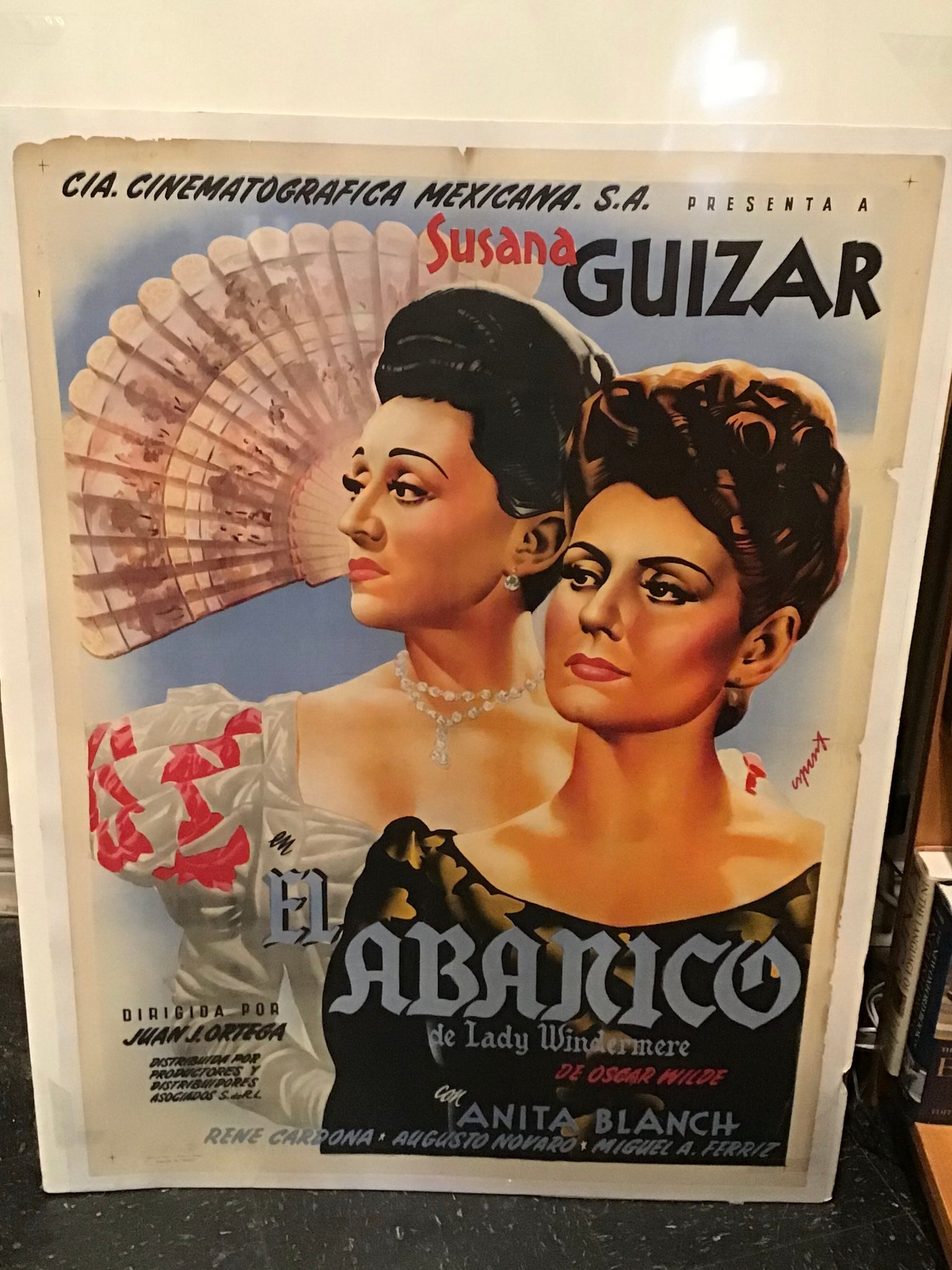El Abanico de Lady Windermere (Lady Windermere's Fan) Movie Poster