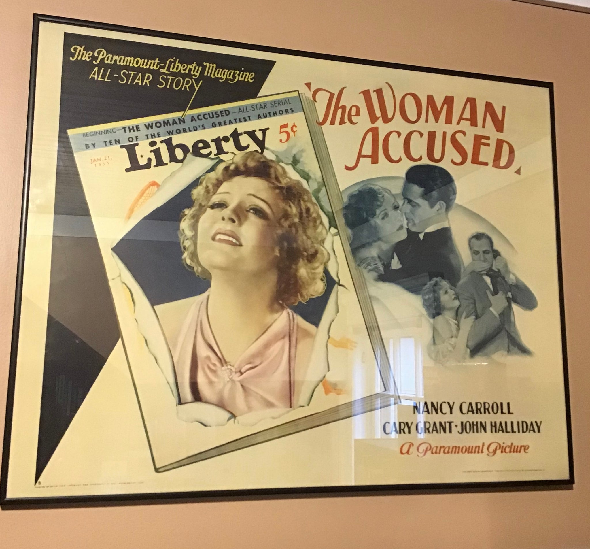The Woman Accused (movie poster)