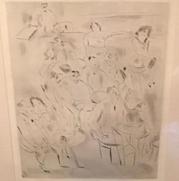 The Ball - Print - Jules Pascin