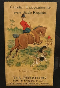 The Repository  Stables - Trade Card