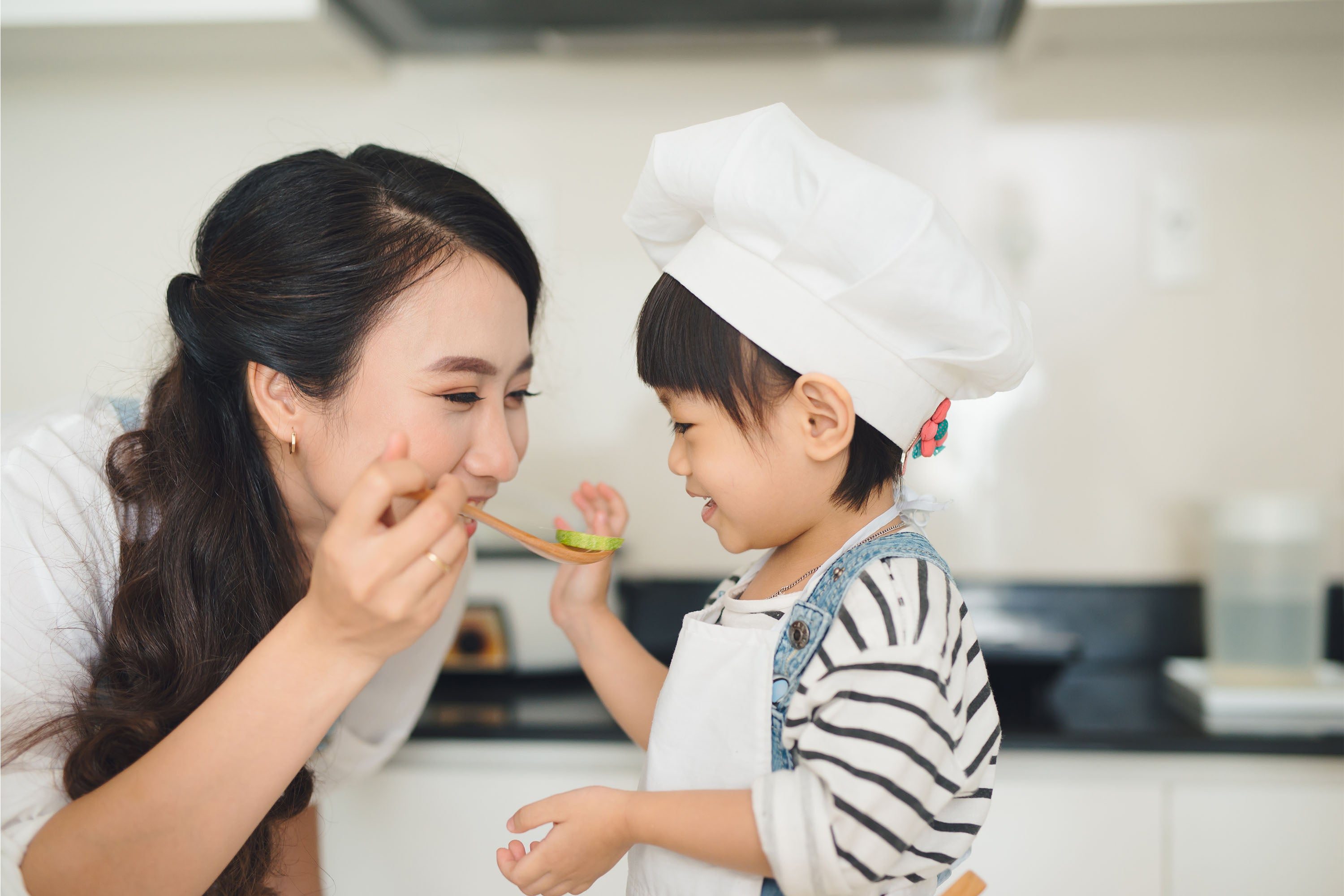 Mother and Child Fussy Eater