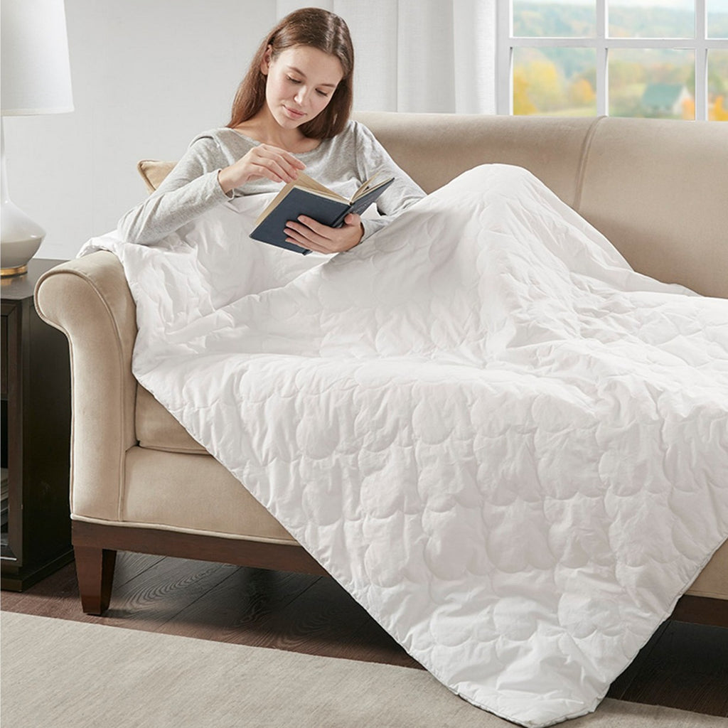 Deluxe Quilted Weighted Blanket