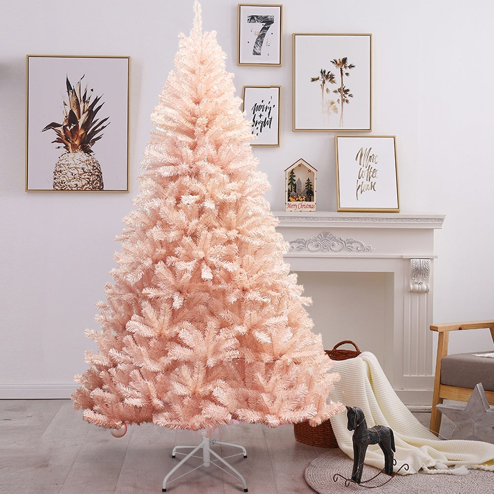 Pink Faux Christmas Tree