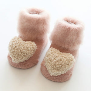 Open image in slideshow, Fluffy Anti-Slip Booties