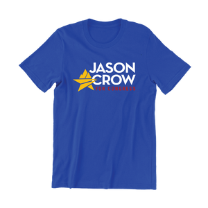 Jason Crow for Congress Logo T-Shirt