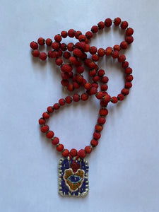 Hawthorn Berries Milagro Necklace
