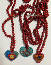 Load image into Gallery viewer, Hawthorn Berries Heart Medicine Necklace- Between Suns