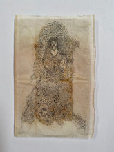 Load image into Gallery viewer, Teabag Drawing- Winter Bride