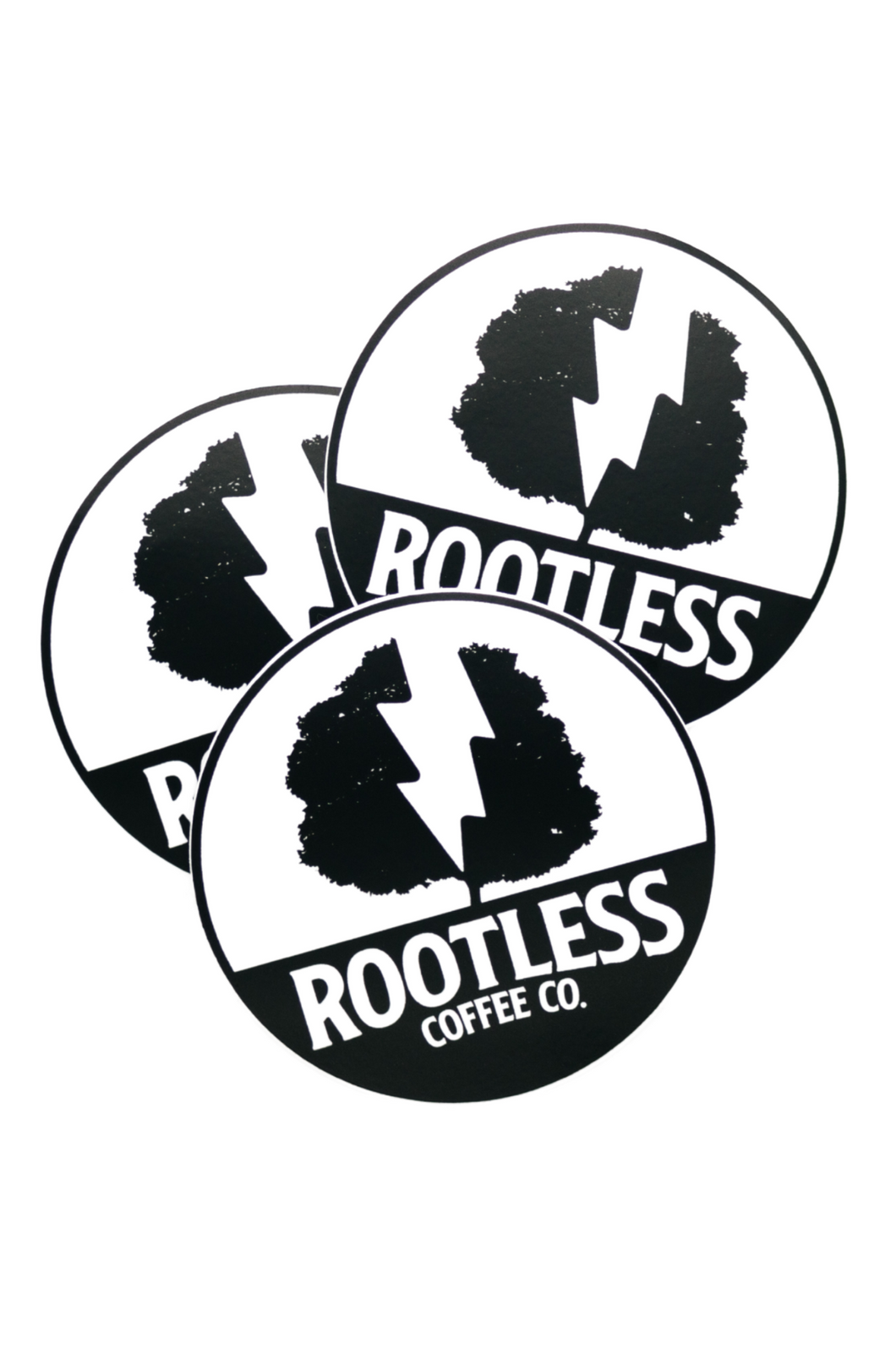 Rootless Logo Sticker