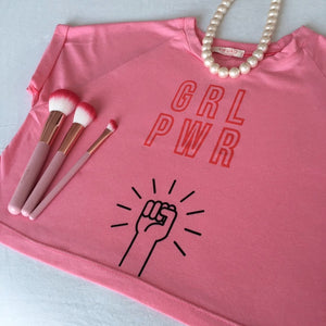 Camiseta girl power
