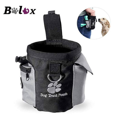 Dog Treat Pouch Drawstring Carries Pet Toys Food Poop Bag - PetioPet