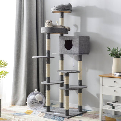 Cat Kitten Tree Cat Cat Scratcher Climbing Activity Centre Scratching Post Toy GIG