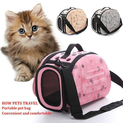 Portable Pet Carrier Handbag Sumait M Pink
