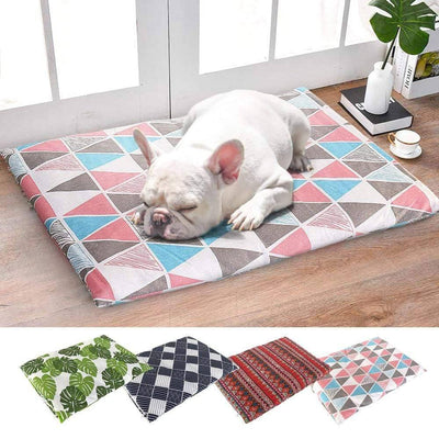 Soft Pet Dog Blanket Puppy Dog Cat Bed Mat Warm Printed Dog Blanket Mattress Sofa Cushion Washable For Small Medium Large Dogs Sumait