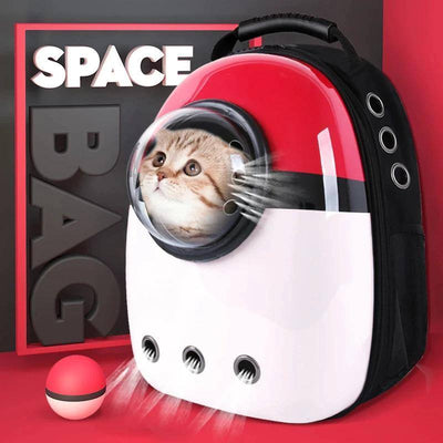 Space Backpack for Pet Sumait Red
