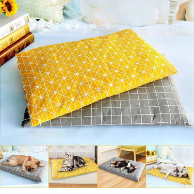 Winter Dog Bed House Soft Pet Dog Beds Mat Warm Sofa Pets Cushion Mattress For Small Medium Large Dogs Cats Chihuahua Cama Perro Sumait