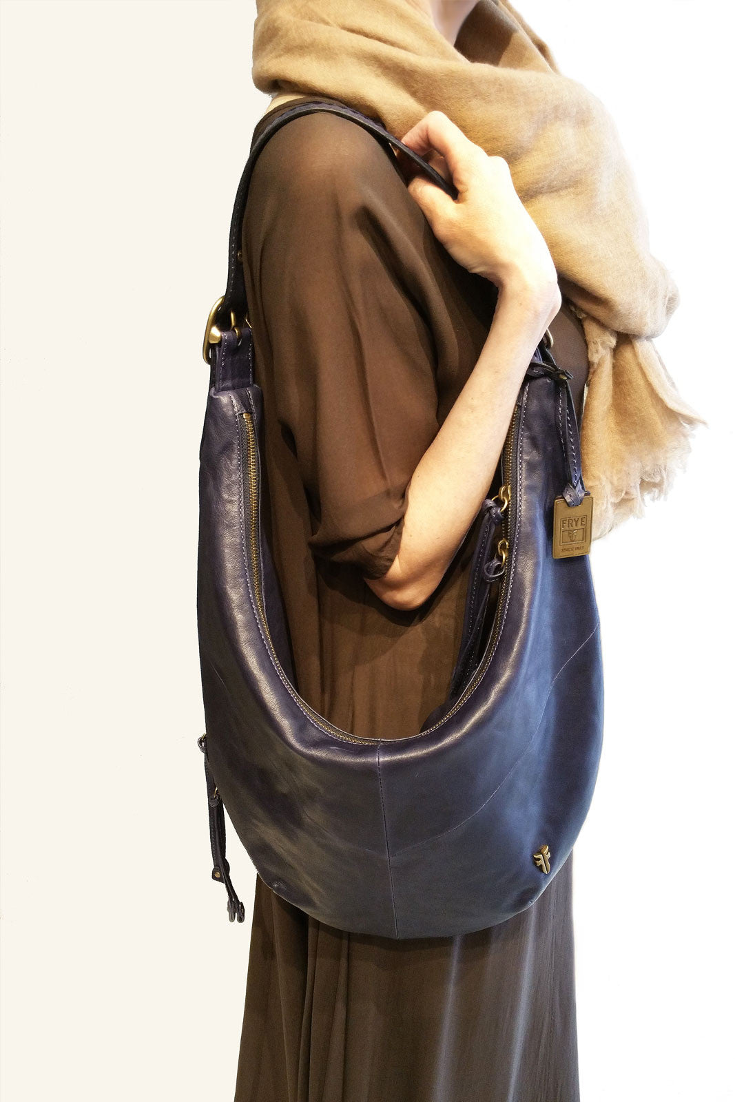 Bohemian leather bag - FRYE 30% OFF