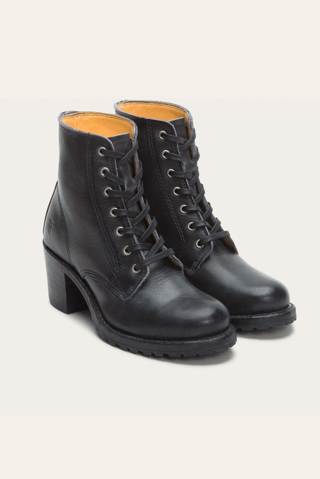 Sabrina Lace Up Black - FRYE
