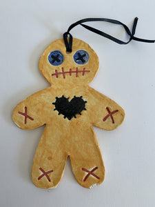 VooDoo Gingerbread Man Ornament