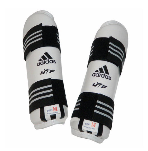 These Adidas forearm guards feature...