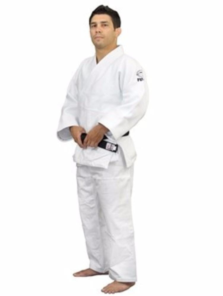 FUJI Sports Double Weave Judo Gi White - BlackBeltShop