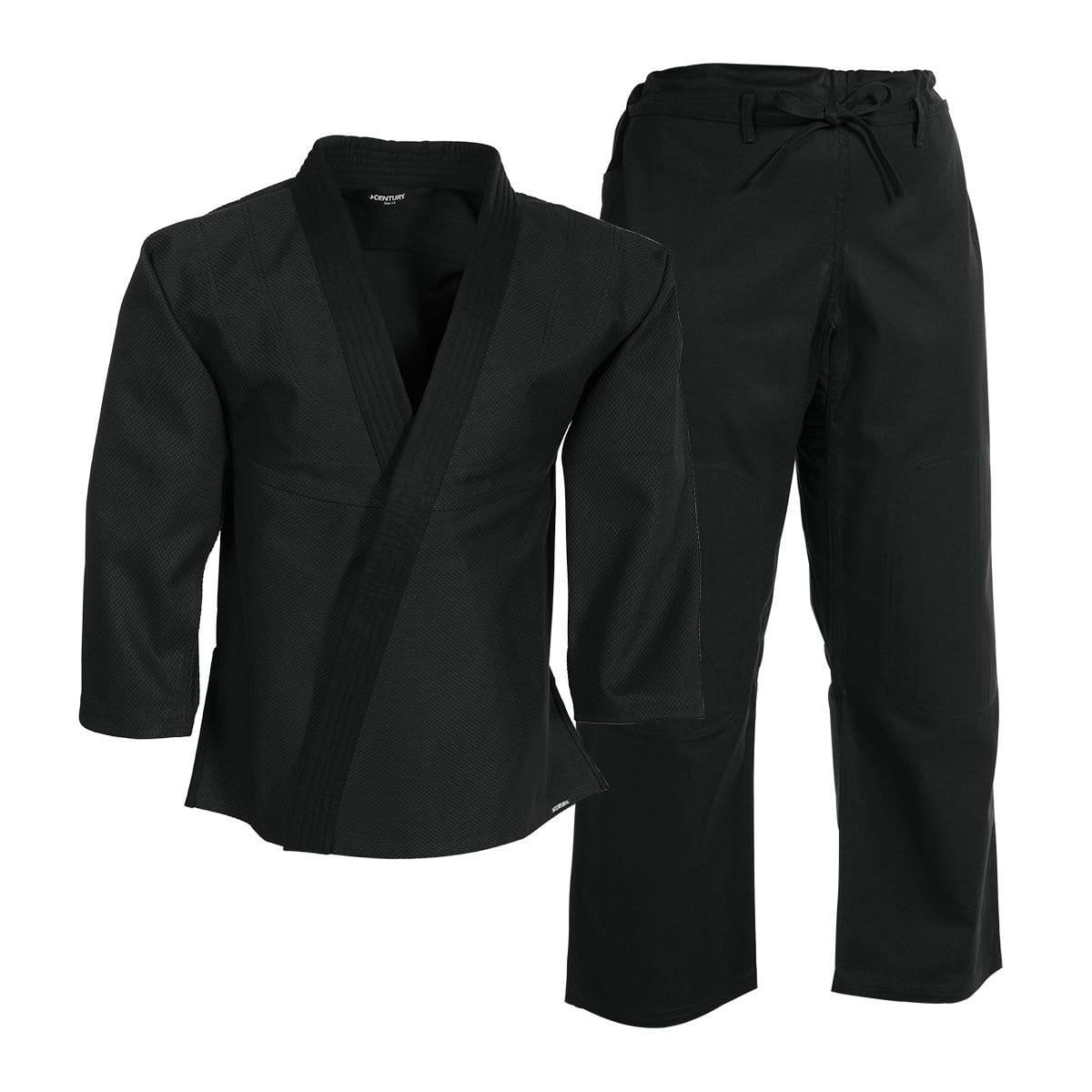black Century  Brazilian-Fit Jiu-Jitsu Uniform