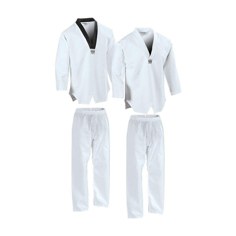 7 oz Middleweight TKD Student Uniform c04205 - BlackBeltShop