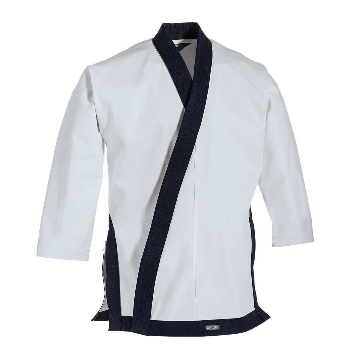 Navy 12 oz. Traditional Tang Soo Do Jacket with no Cuffs