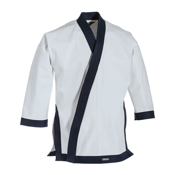 Navy 12 oz. Traditional Tang Soo Do Jacket with Cuffs