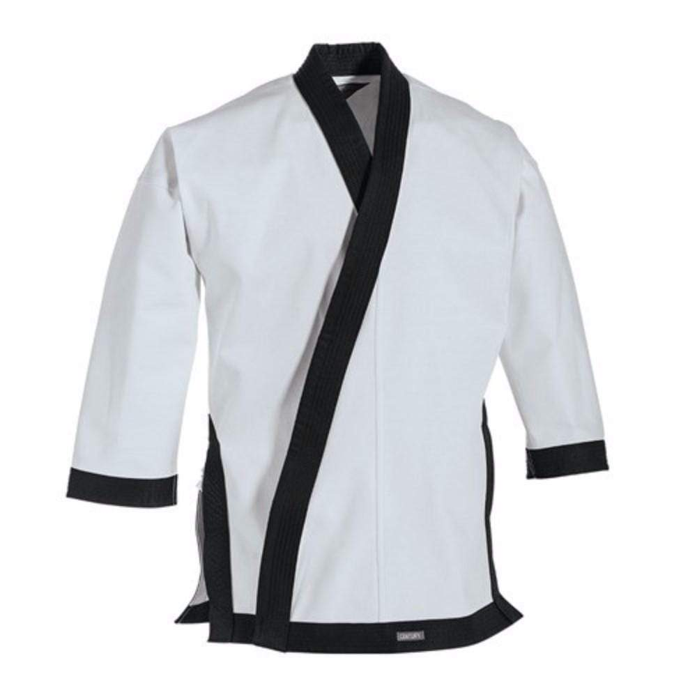 Black 12 oz. Traditional Tang Soo Do Jacket with Cuffs