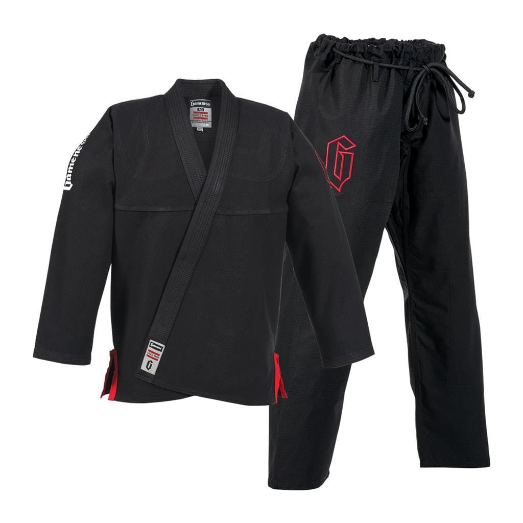 Gameness Air Brazilian Jiu Jitsu  BJJ Gi Black g1221 - BlackBeltShop