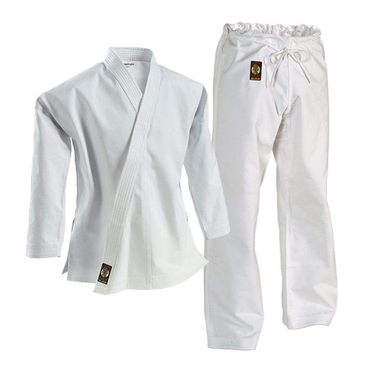 white Century 14 oz Ironman Uniform  Karate Martial Arts c04981