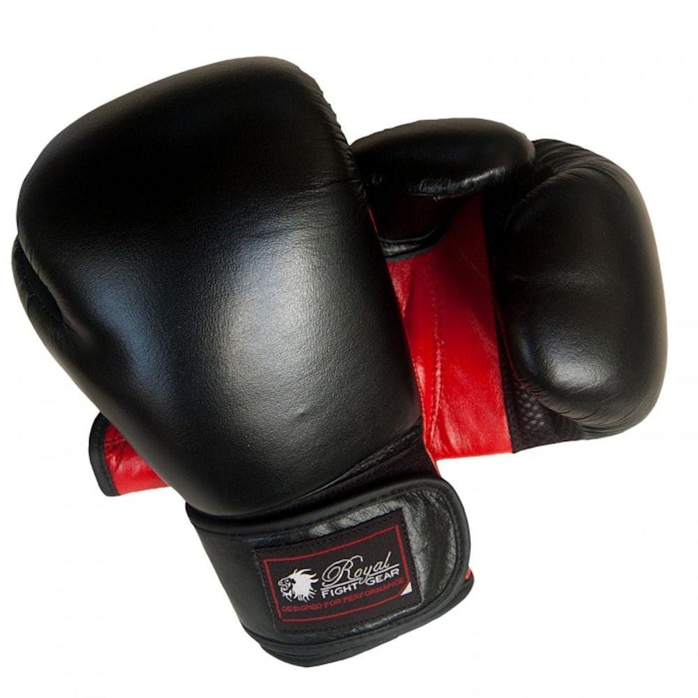 ROYAL FIGHT GEAR V.2 LEATHER BOXING GLOVES - BlackBeltShop